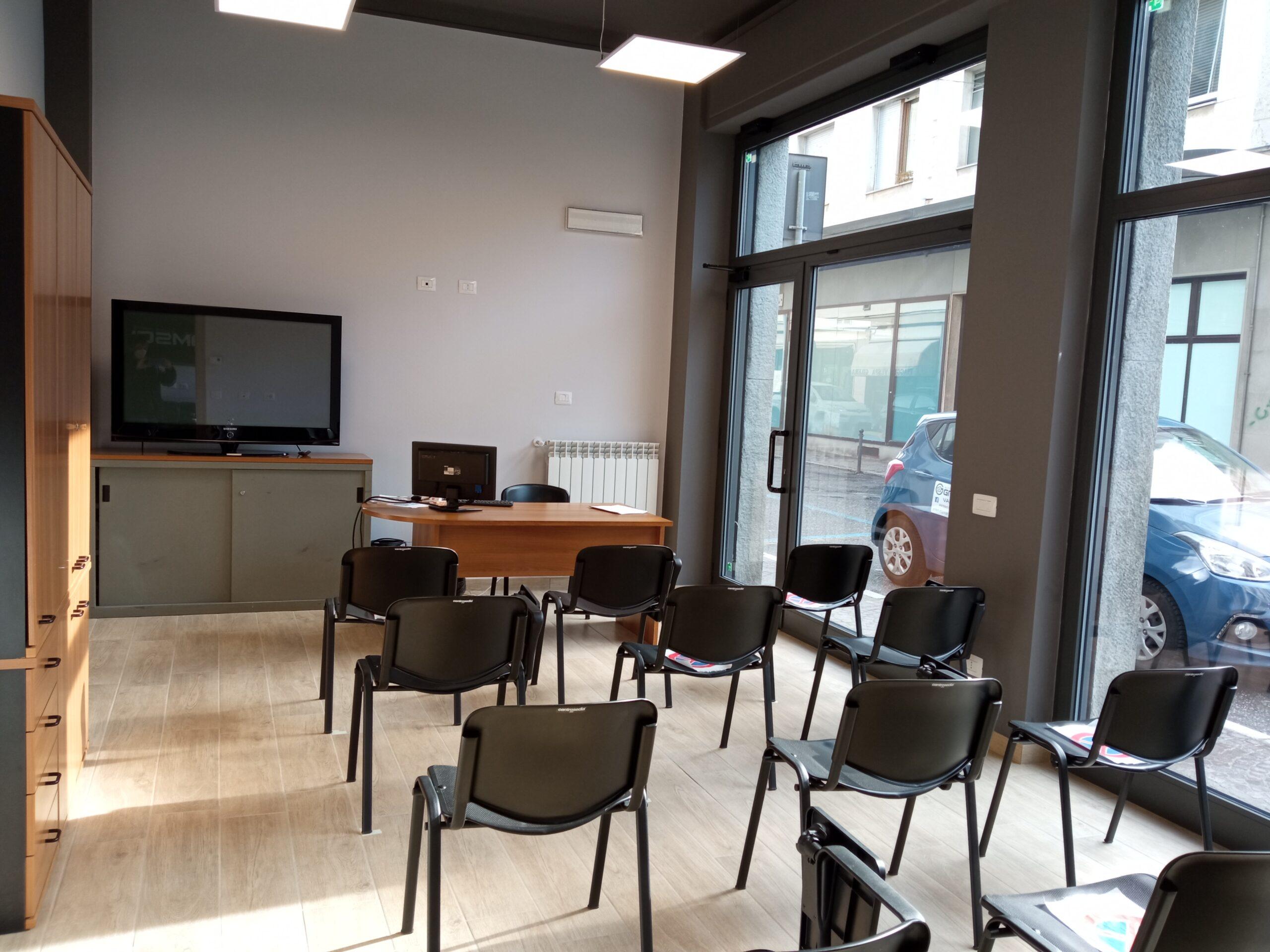 Autoscuola Gramsci - aula