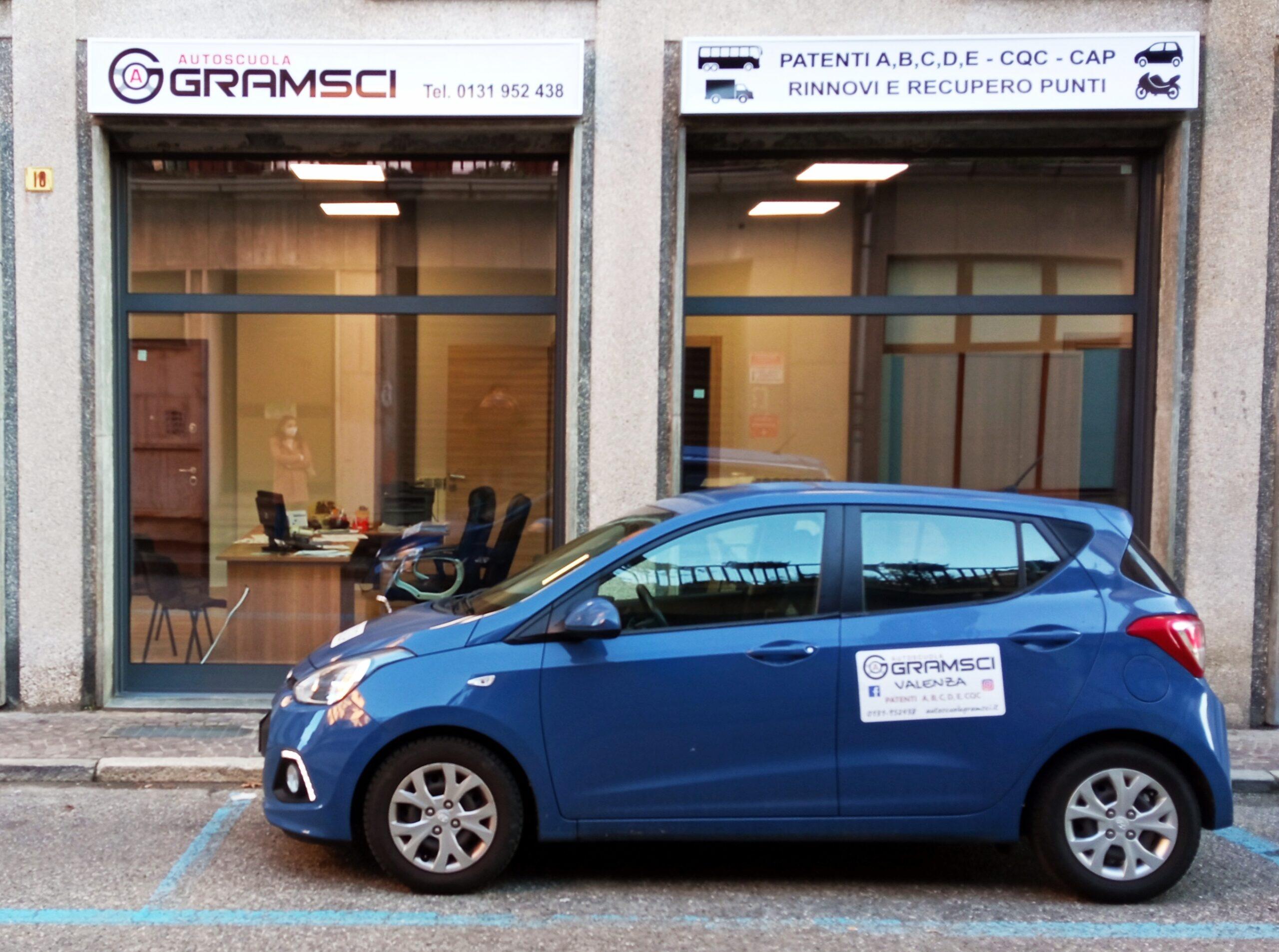 Autoscuola Gramsci - entrata